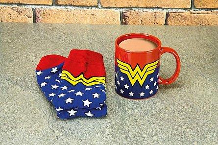 Cana cu sosete DC Comics - Wonder Woman