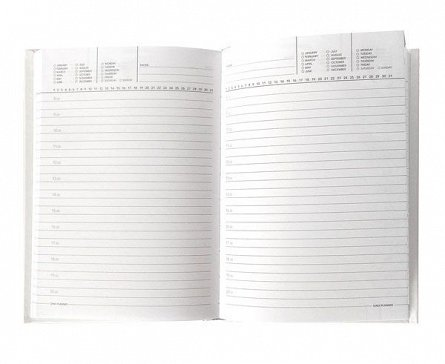 Agenda A5,nedatata,160p,Bourgeois,metalizata