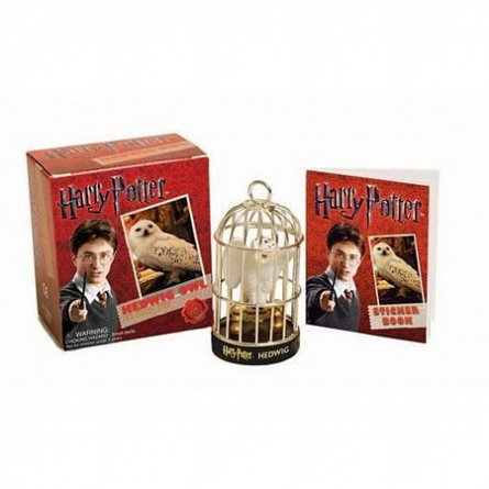 HARRY POTTER: HEDWIG OWL (BOOK + TOY)