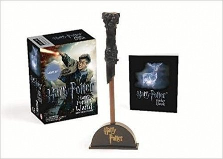 HARRY POTTER: HARRY POTTER'S WAND (BOOK + TOY)