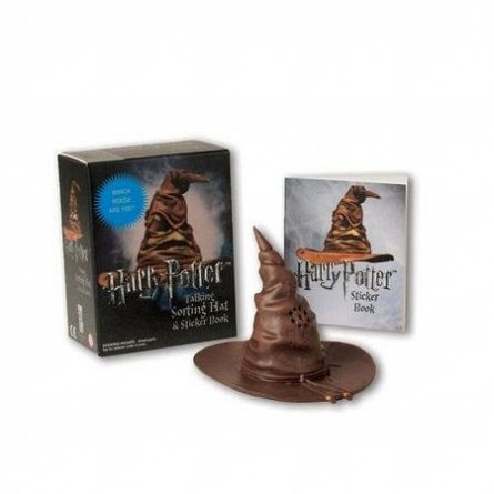 HARRY POTTER: TALKING SORTING HAT (BOOK + TOY)