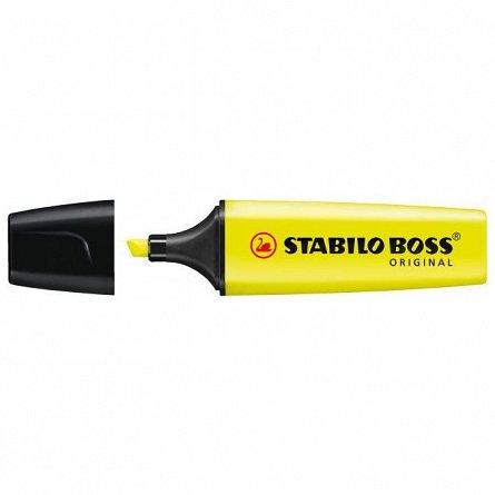 Textmarker Stabilo Boss, galben