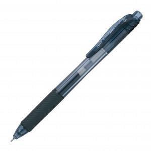 Roller cu gel Pentel, EnergelX, varf 0.5mm, negru