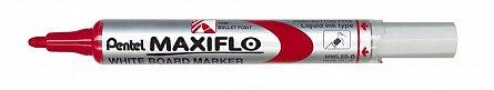 Marker tabla Pentel Maxiflo,vf.rotund,4mm,rosu