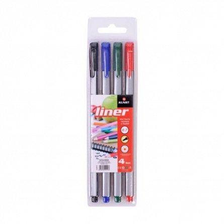 Liner Kunst,4b/s (negru,rosu,albastru,verde)