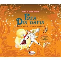 Fata din dafin (set 2 carti + cd) - Andreea Demirgian