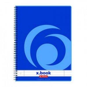 Caiet cu spira X.book,A4,80 file,dictan.