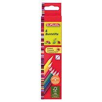 Creioane colorate triunghiulare,6cul/set