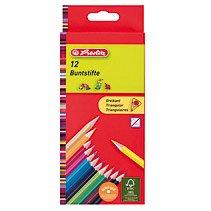 Creioane colorate triunghiulare,12cul/set