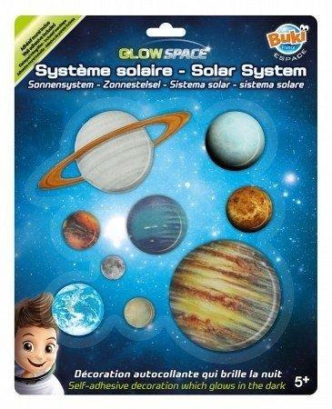 Sistem Solar,decoratiuni perete fosforescente,Buki,+5Y
