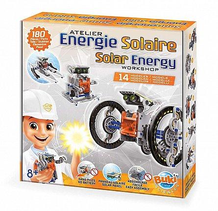 Energie solara 14in1,Science,Buki,+8Y