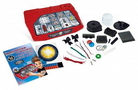 Expert in electronica,Science,kit 50 circuite,Buki,+8Y