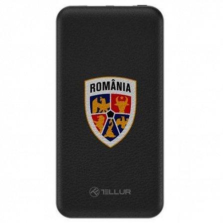 Baterie externa Tellur slim 10000mAh 2xUSB + Micro USB, FRF, negru