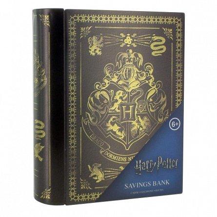 Pusculita metalica Harry Potter Hogwarts Logo V2