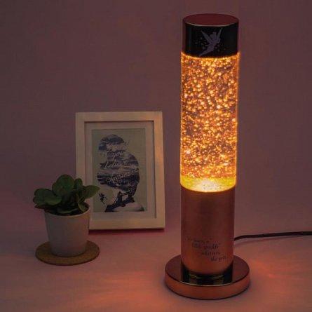 Lampa cu sclipici Tinker Bell - Glitter Lamp