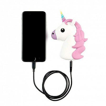 Baterie Externa 2600mAh Unicorn, 1xUSB, 1A - Satzuma