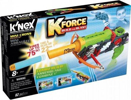 Knex,set constructie,blaster,mini cross,82pcs,8Y+