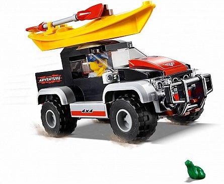 LEGO City Aventura cu caiacul
