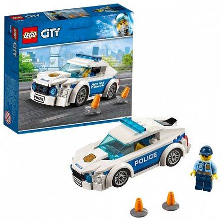 LEGO City Masina de politie pentru patrulare