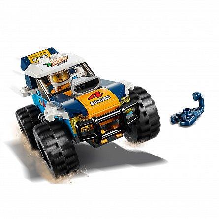 LEGO City Masina de raliu din desert