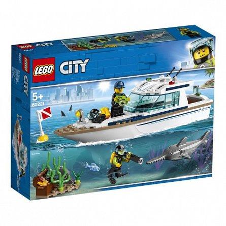 LEGO City Iaht pentru scufundari