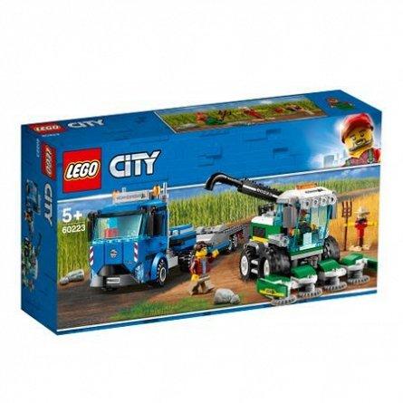 LEGO City Transportor de seceratoare
