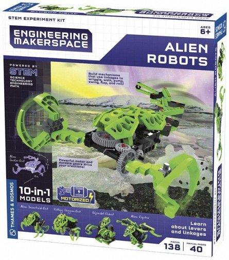 Kit experimente,STEM-Roboti extrateresti 10in1,+6Y,Kosmos