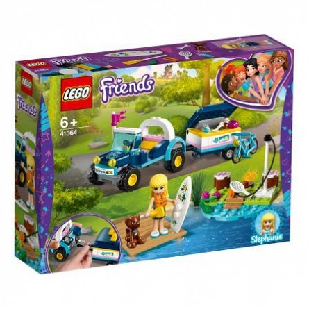 LEGO Friends Vehiculul cu remorca al Stephaniei
