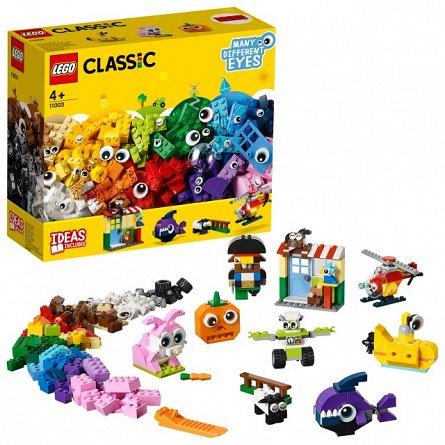 LEGO Classic Caramizi si ochi
