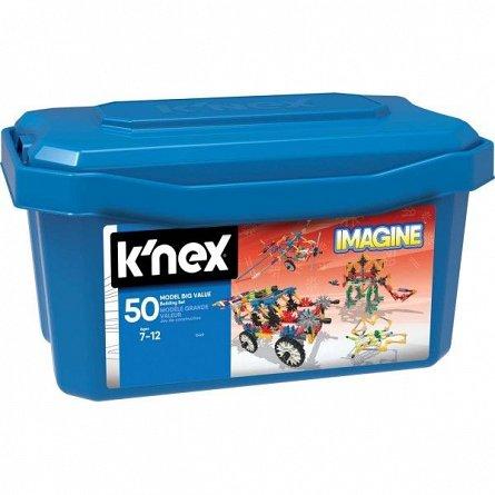 Knex,set constructie,cutie mare,50 modele,7Y+