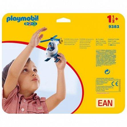 Playmobil-1.2.3 Elicopter de politie