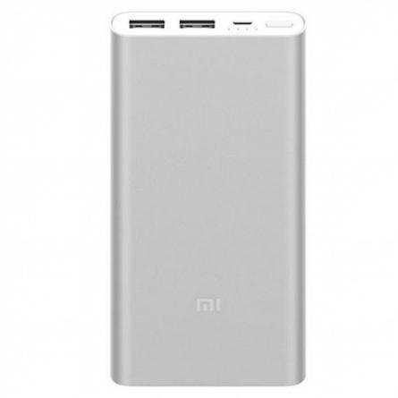 Baterie Externa 10000mAh Xiaomi MI�2s, Argintie