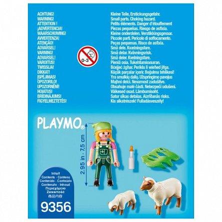 Playmobil-Figurina fermiera cu oite