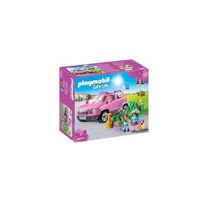 Playmobil-Masina de familie cu loc de parcare