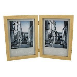Rama foto,13x18cm,lemn,dubla