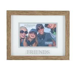 Rama foto,10x15cm,lemn,Friends