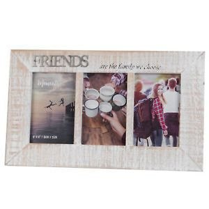 Rama foto,10x15cm,lemn,Friends,3foto