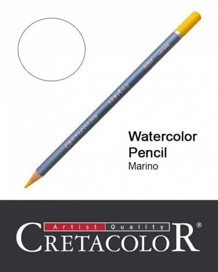 Creion colorat,Marino,White