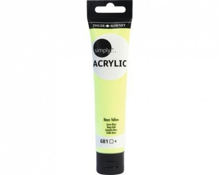 Tub culori acrilice,Simply,75ml,681