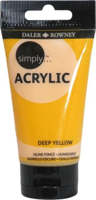 Tub culori acrilice,Simply,75ml,618