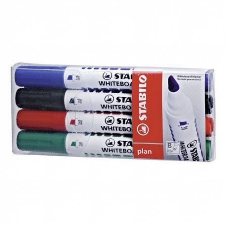 Marker tabla Stabilo 641,4buc/set