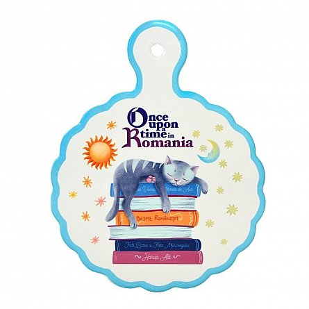 Suport pentru vase,rotund,Once Upon a Time in Romania