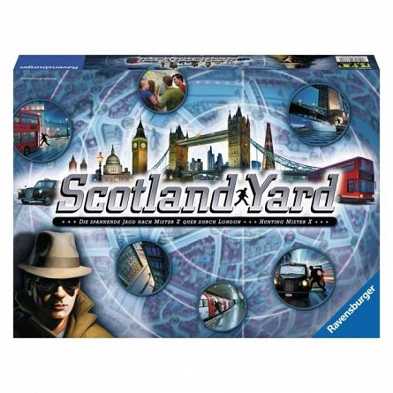 Joc Ravensburger - Joc Scotland Yard, Lb. Romana