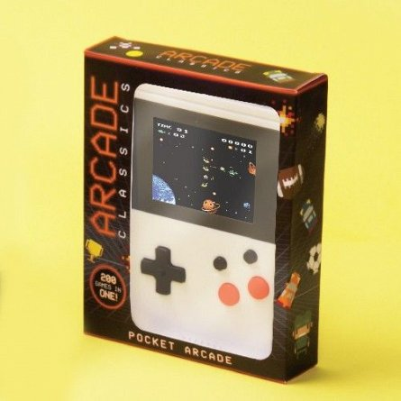 Consola jocuri 200in1 8bit Arcade Classics, LCD 2.23