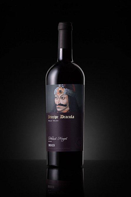 Vin rosu,Principe Dracula,Feteasca Neagra,0.75l