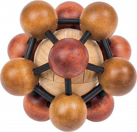 Puzzle lemn,Einstein,The Atom Puzzle