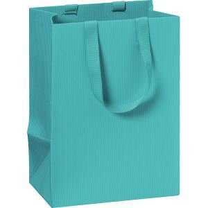Punga cadou 10x8x14cm,One Colour,bleu