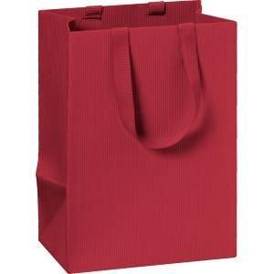 Punga cadou 10x8x14cm,One Colour,rosu inchis