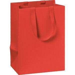 Punga cadou 10x8x14cm,One Colour,rosu