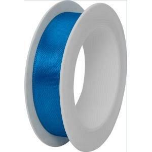 Panglica satin,15mmx3m,Uni Colour,albastru